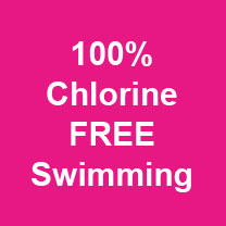 100% Chlorine free swimming